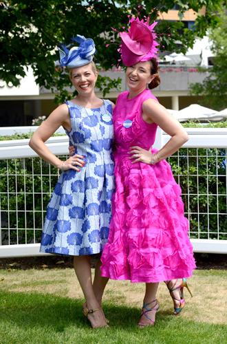 Фото №26 - Чья шляпа лучше: герцогиня Кембриджская и другие на Royal Ascot 2017