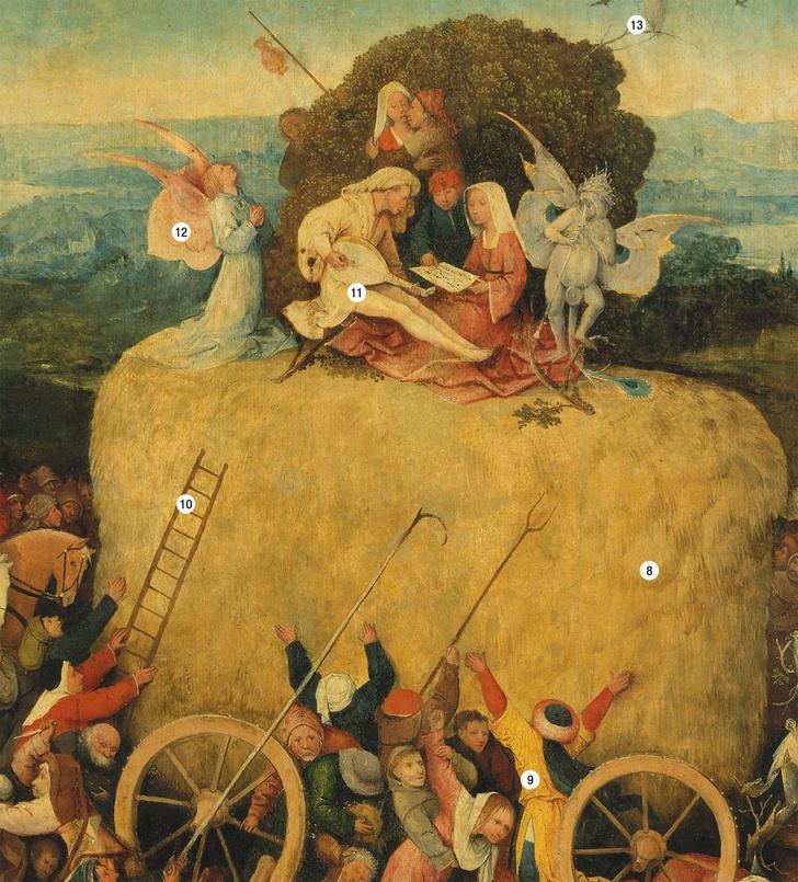 Фото №7 - Причины и последствия: обличение смертных грехов на картине Иеронима Босха