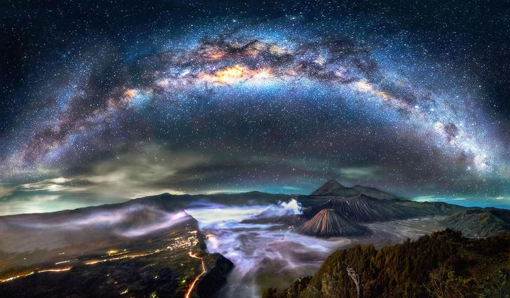 Фото №1 - Галактический пейзаж