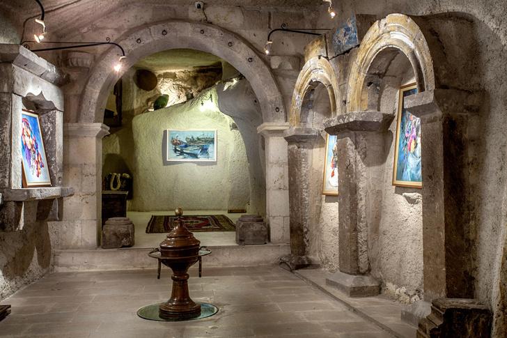 Фото №8 - Удивительный отель с номерами в пещерах в Турции
