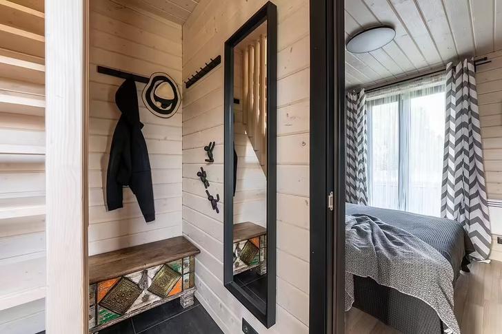Фото №6 - Небольшой дом с панорамными окнами под Волоколамском