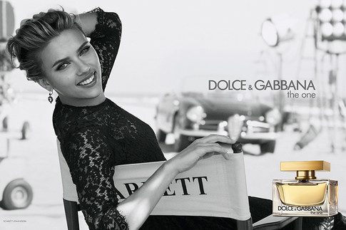 Скарлетт Йоханссон (Scarlett Johansson), Dolce & Gabbana, The One, аромат, парфюм