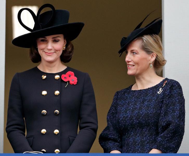 Фото №1 - Какое преимущество есть у Софи Уэссекской перед Кейт (несмотря на более «низкий» титул)