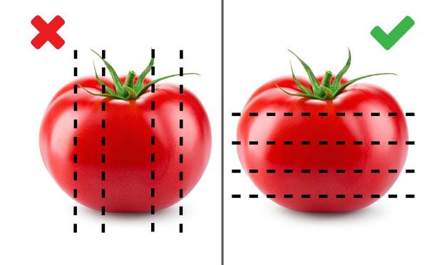 Как правильно резать помидоры с точки зрения физики
