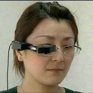 Фото №1 - В Японии изобрели самый крохотный телевизор