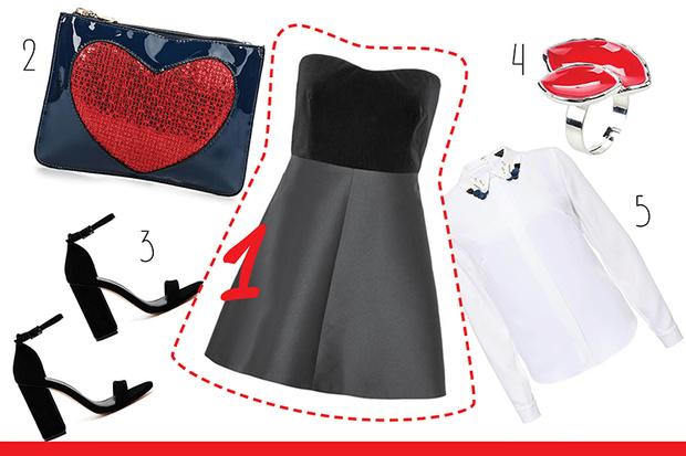 Фото №3 - С чем носить платье-бюстье