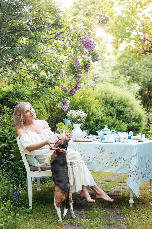 Фото №1 - Завтрак на траве: 10 правил красивой сервировки от Анны Муравиной
