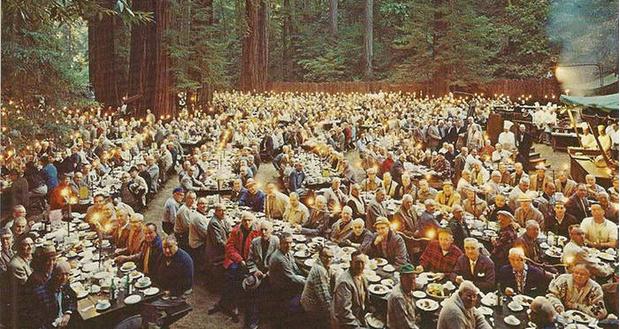Фото №4 - Место, где больше 100 лет собираются самые влиятельные люди США для странных ритуалов
