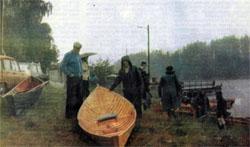 Фото №2 - Вокруг «бороды» на веслах