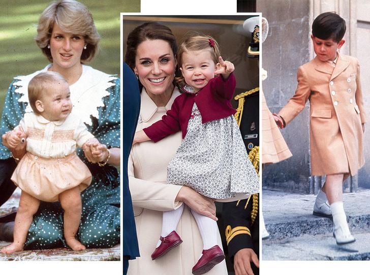 Фото №1 - Малыши-путешественники: первые зарубежные туры королевских детей