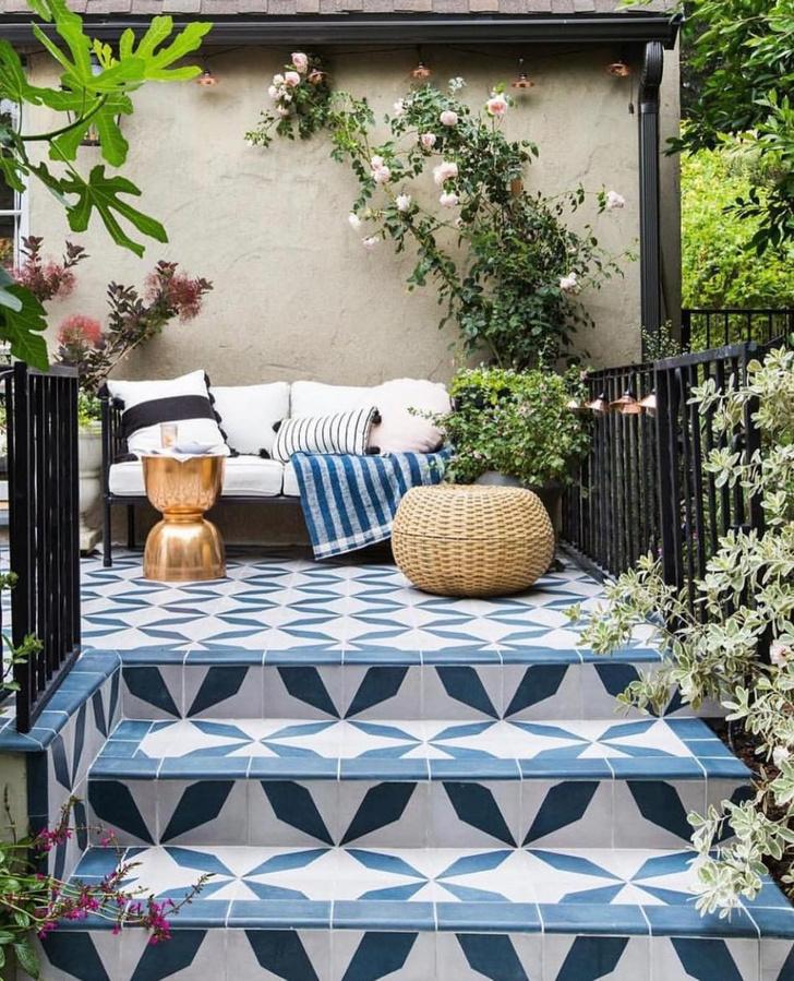 Фото №1 - Да будет цвет: 10 идей декорирования террасы