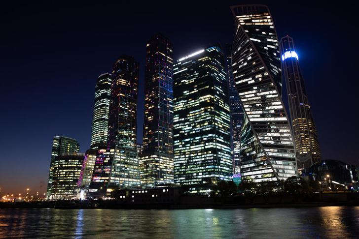 Фото №1 - Ночная Москва