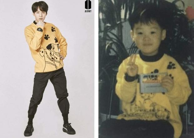 Фото №6 - Милота дня: BTS воссоздали свои детские фотографии