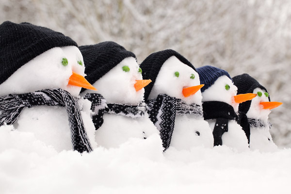 Фото №1 - Морозы в России