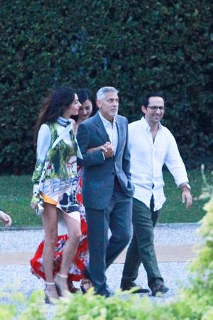 Амаль Клуни, Джордж Клуни