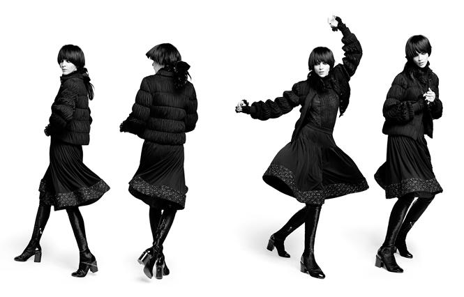 Фото №7 - Новая коллекция Chanel в объективе Карла Лагерфельда