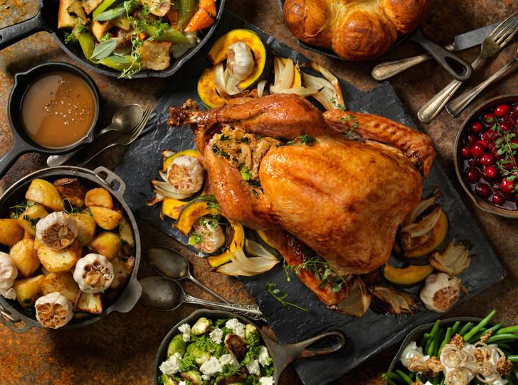 Фото №3 - Рецепты из-за океана: как приготовить традиционный ужин на День Благодарения
