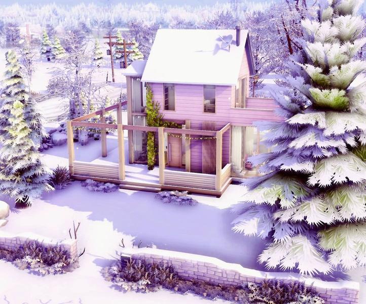Фото №133 - 35 уютных домиков для «Симс 4», в которых ты сама захочешь поселиться