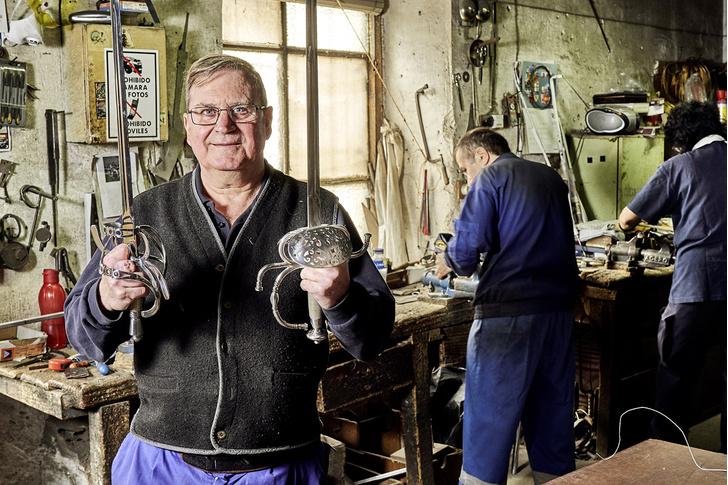 Фото №8 - Стальная воля: прошлое и настоящее толедских клинков