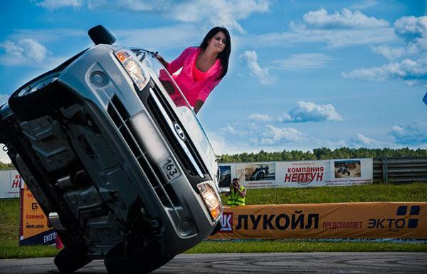 Автоледи Тольятти, Анастасия Горецкая, автородео Тольятти