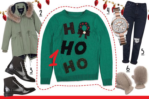 Фото №1 - С чем носить рождественский пуловер