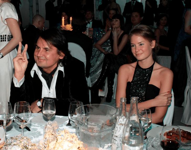 Рустам и Алена на благотворительном бале Натальи Водяновой