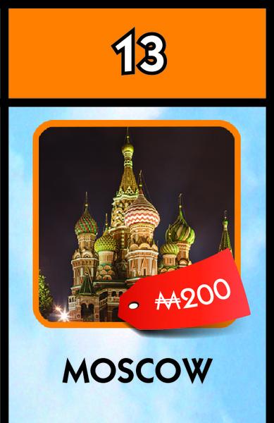 Фото №1 - Москва стала частью легендарной игры «Монополия»