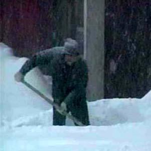 Фото №1 - Камчатку занесло снегом