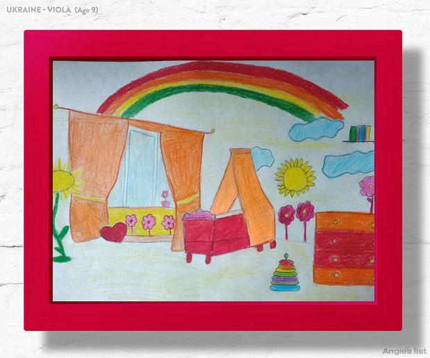Фото №3 - Комната-мечта: 7 детских, созданных по рисункам малышей