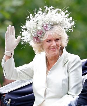 Фото №5 - Герцогиня Эпатаж: самые невероятные шляпы Камиллы