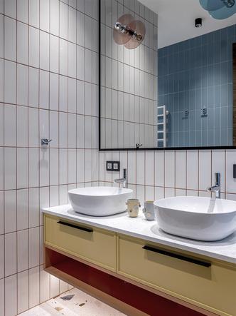 Фото №15 - Серо-голубая квартира в Самаре
