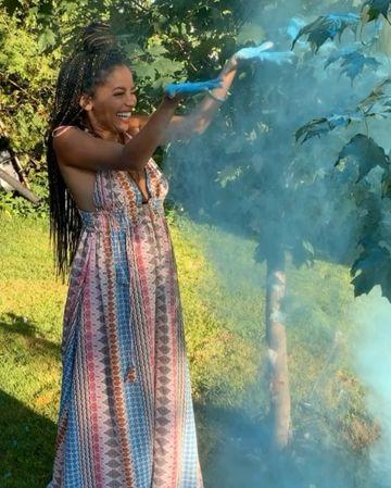 Фото №1 - Поздравляем! Ванесса Морган из «Ривердейла» стала мамой 🥳