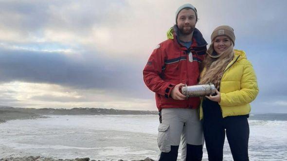 Фото №1 - У берегов Ирландии нашли капсулу времени с российского ледокола