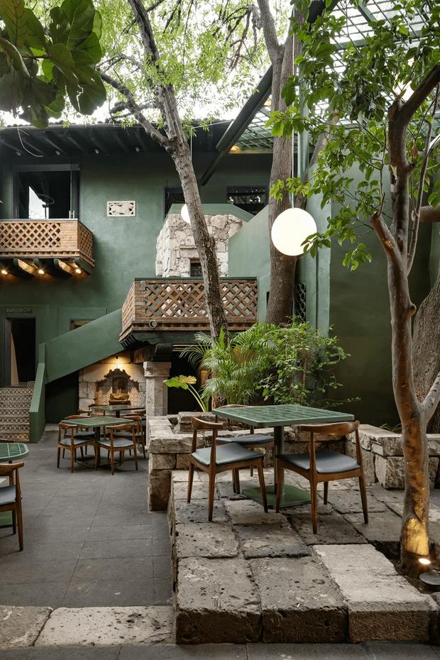 Фото №5 - Яркий ресторан в Морелии