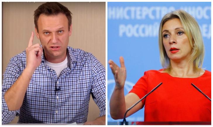 Фото №1 - Навальный— Захарова: интернет-дебаты про полеты и элиты