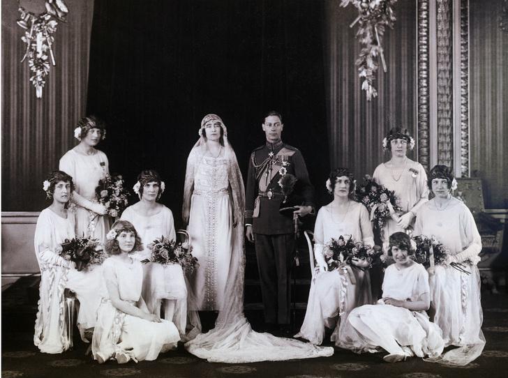 Фото №1 - Принц Берти и леди Елизавета: какой была свадьба родителей Королевы