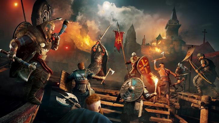 Фото №3 - Проживи легендарную сагу о викингах: «Assassin's Creed Вальгалла» уже доступна
