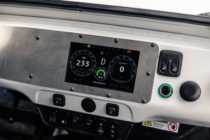 Фото №6 - 7 высоковольтных фактов об электровездеходе «УАЗ-Спартан»