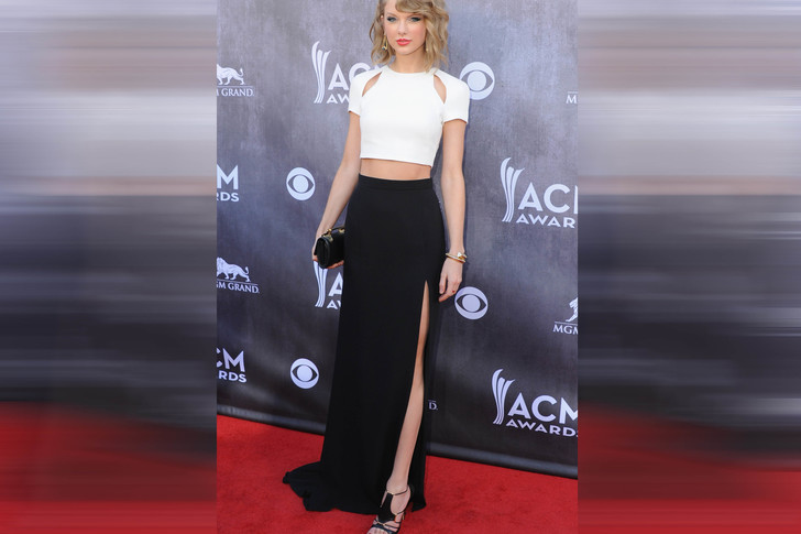Тейлор Свифт на церемонии вручения премии Академии кантри-музыки, 2014 год