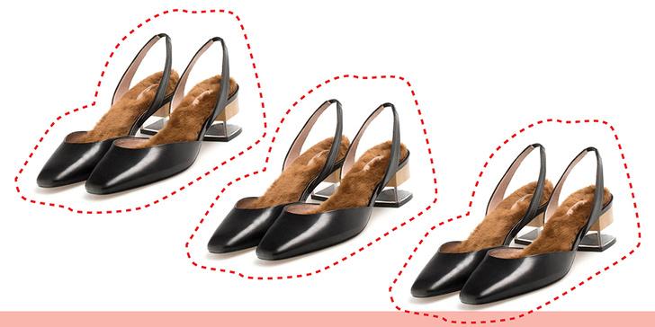 Фото №1 - Дорого-дешево: туфли с мехом