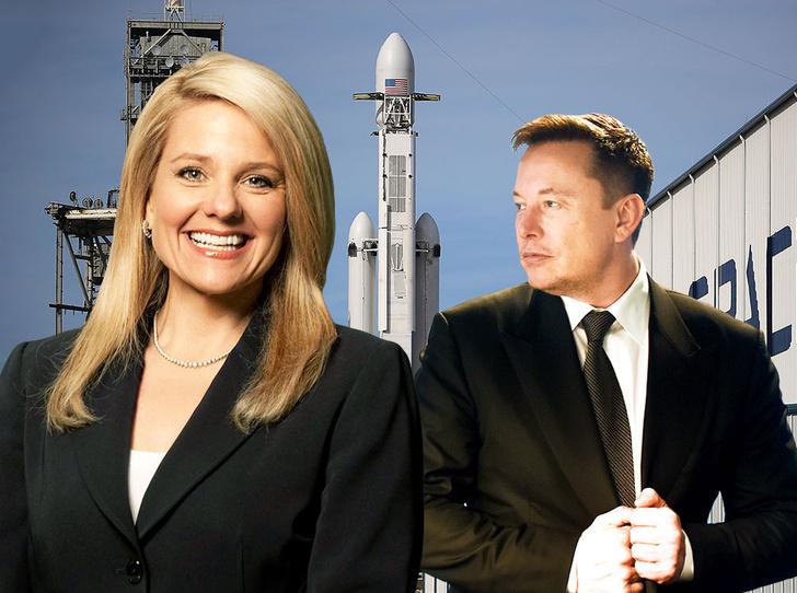 Фото №1 - 5 уроков смелости от женщины-президента SpaceX Гвинн Шотвелл