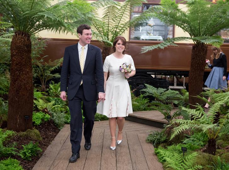 Фото №1 - Зачем принцесса Евгения пытается скопировать свадьбу принца Гарри и Меган