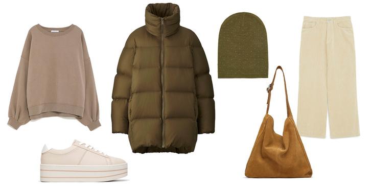 Фото №2 - Как носить пуховик и выглядеть круто: 3 стильных образа для теплолюбивых девчонок