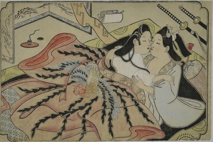 Фото №3 - Удивительные секс-традиции Древней Японии