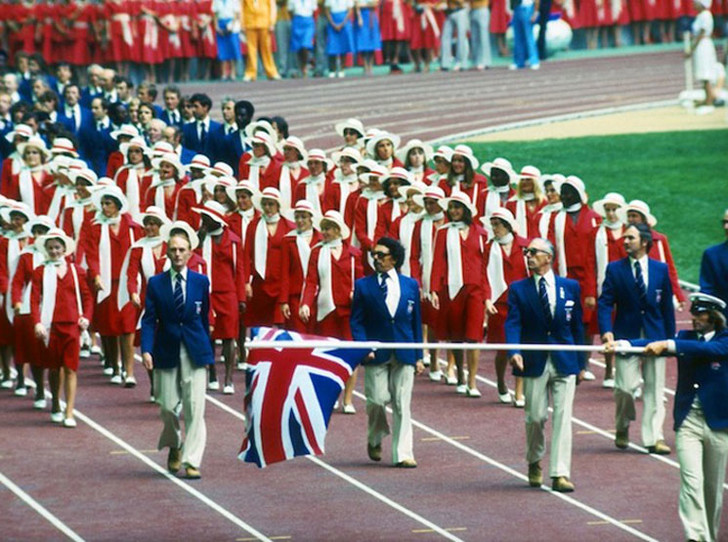 Фото №12 - 10 самых удачных примеров олимпийской формы из истории летних Олимпиад