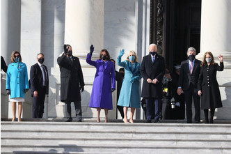 Фото №10 - Иванка плакала, Трамп обещал вернуться: как Джо Байдена посвящали в президенты