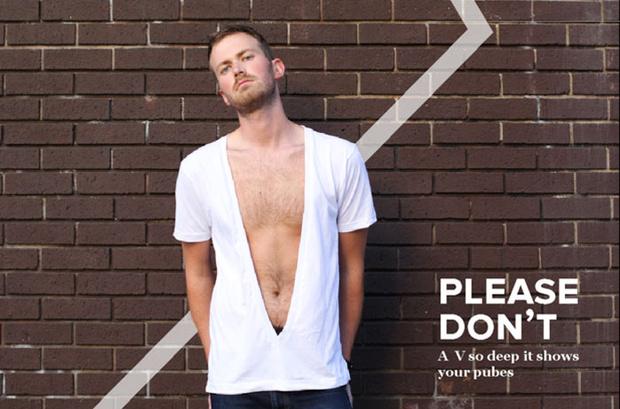 Фото №7 - «Да», «нет» и «никогда»: смешной и полезный гид по внешнему виду для мужчин (в картинках)