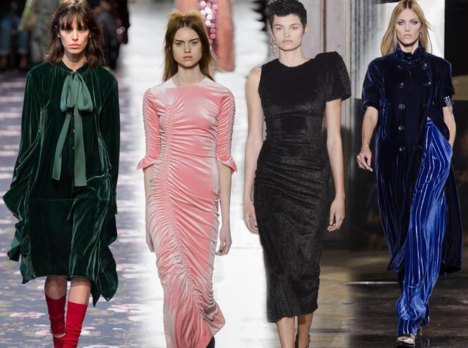 Фото №1 - Новогодний образ: топ-15 платьев из бархата для праздника