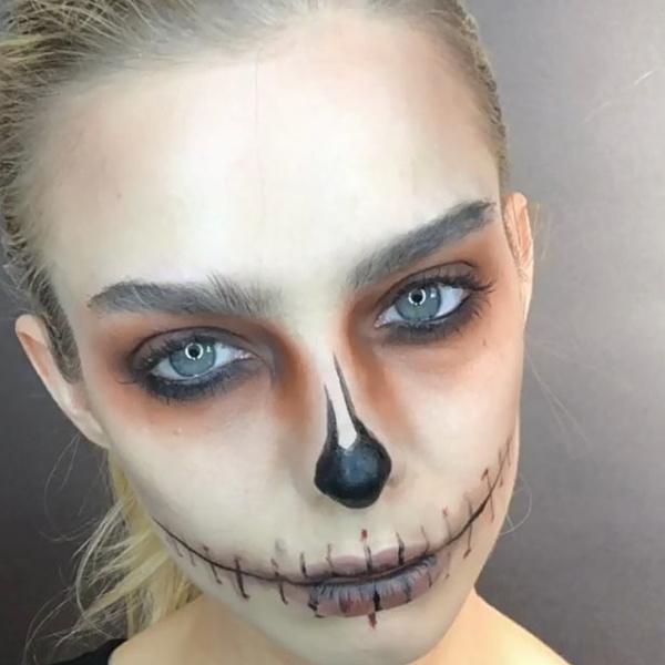 Фото №43 - 25 идей, как раскраситься на Хэллоуин