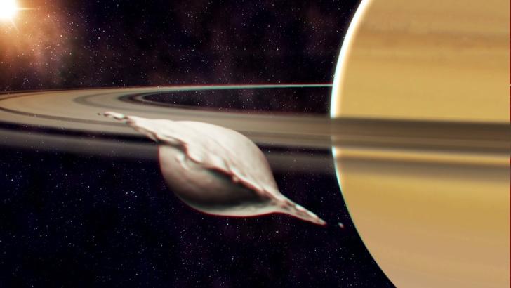 Фото №1 - Откуда в системе Сатурна спутники-пельмени